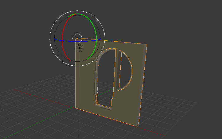 Art-nouveau door - commenced Blender work
