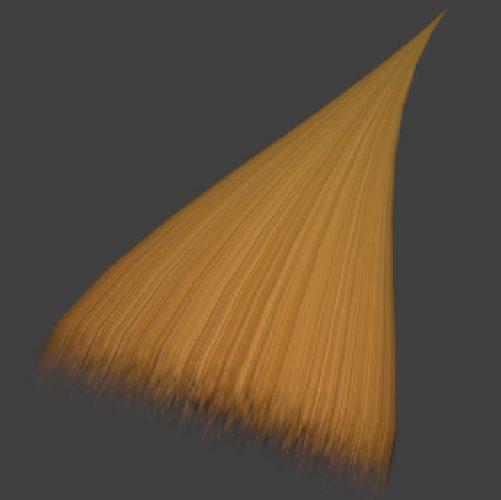 Making a simple hair transparent texture #Photoshop #GIMP #Paint.NET