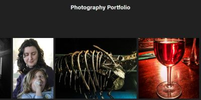 #Adobe #Portfolio – giving it a go